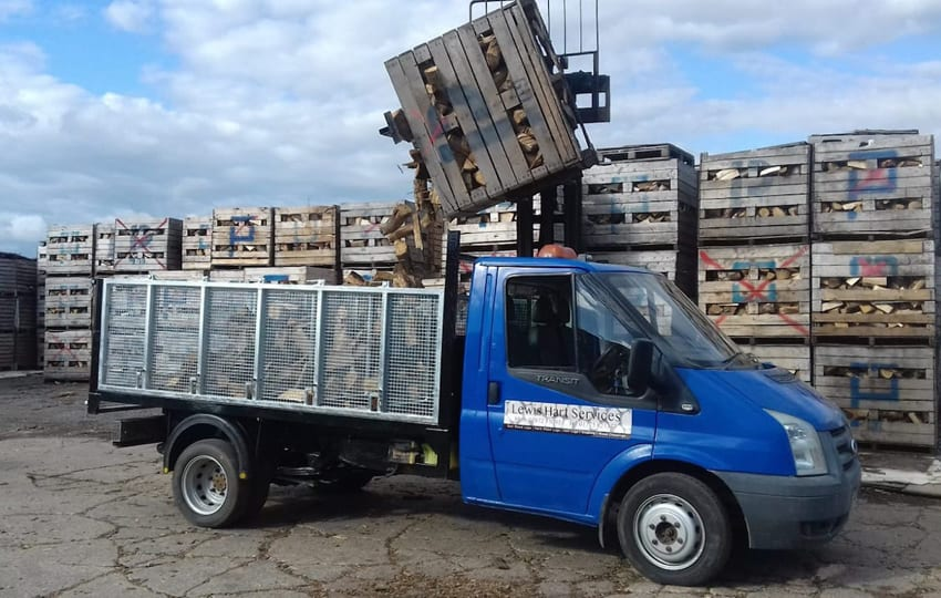hardwood logs lincolnshire delivery