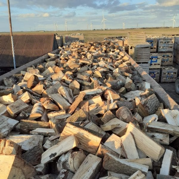 logs air dried